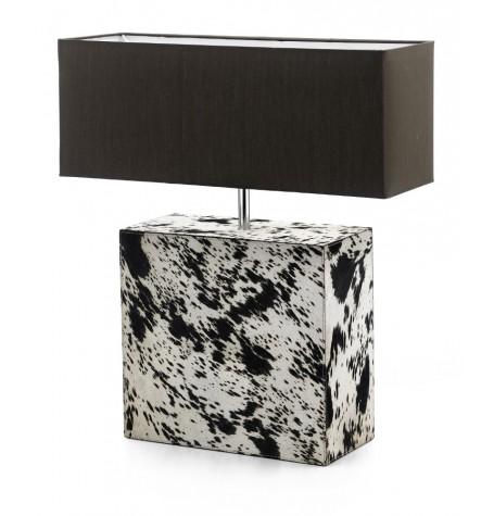 Úvod » Luxusná stolová lampa s podstavcom z kože
