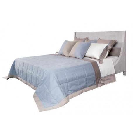 Luxusná manželská posteľ z ratanovej kôry s ortopedickým roštom ...