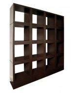 Luxusná dizajnová knižnica z dreva
