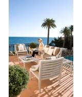 Luxusná ratanová zostava záhradného nábytku DECO
