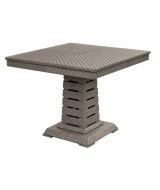 Jedálenský stôl z ratanu do záhrady Deco